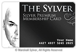 The Sylver Premium Membership Card